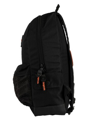 Superdry Neoprene Panel Montana Backpack - Black