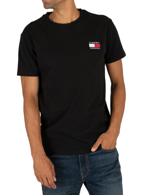 Tommy Jeans Badge T-Shirt - Black