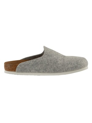 Birkenstock Amsterdam BS Vegan Slippers - Grey
