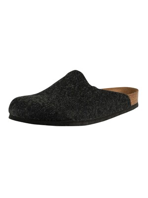 Birkenstock Amsterdam BS Vegan Slippers - Anthracite