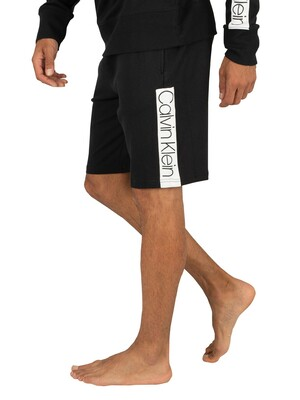 Calvin Klein Compact Flex Sleep Shorts - Black