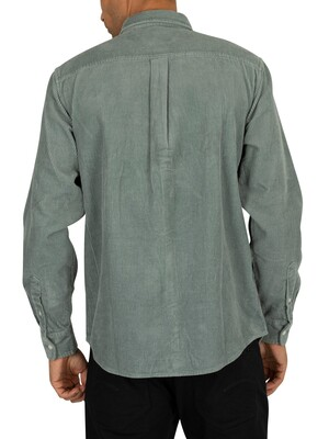 Carhartt WIP Madison Cord Shirt - Cloudy/Flour