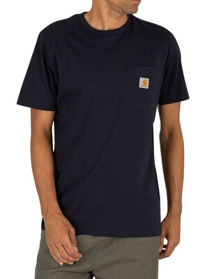 Carhartt WIP Pocket T-Shirt - Dark Navy