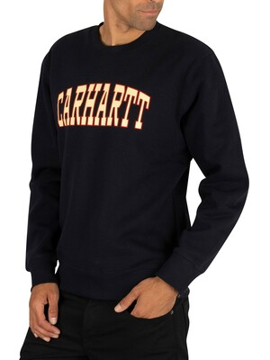 Carhartt WIP Theory Sweatshirt - Dark Navy