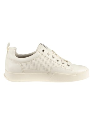 G-Star Rackam Leather Core Low Trainers - White