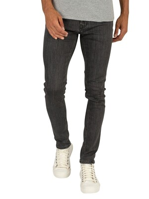 Jack & Jones Liam Original 881 Skinny Jeans - Black Denim