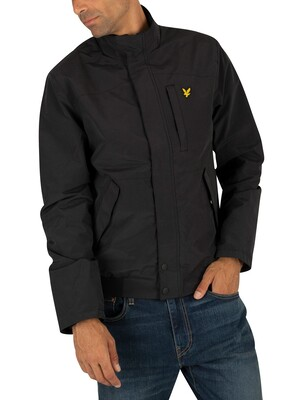 Lyle & Scott Panelled Jacket - True Black