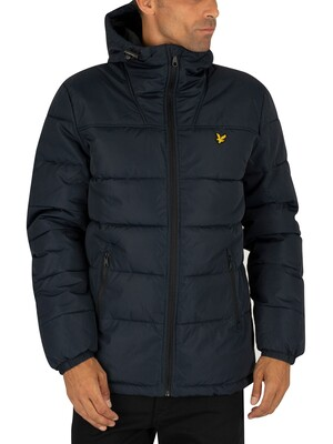 Lyle & Scott Wadded Puffer Jacket - Dark Navy