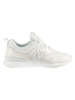 New Balance 997H Leather Trainers - White