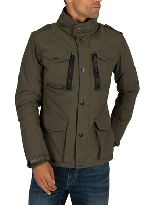 Schott Field Jacket - Khaki
