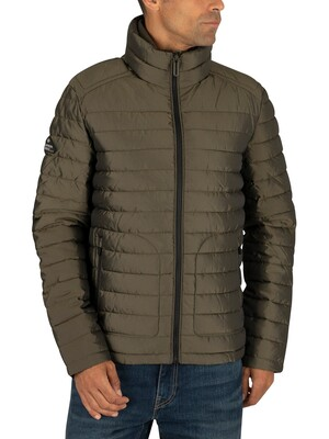 Superdry Double Zip Fuji Jacket - Army Green