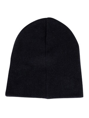 Superdry Orange Label Beanie - Downhill Navy/Black Grit