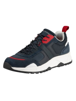 Tommy Hilfiger Fashion Mix Trainers - Red/White/Blue