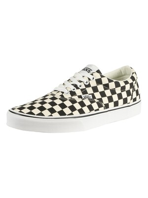 Vans Doheny Checkerboard Trainers - Black/White