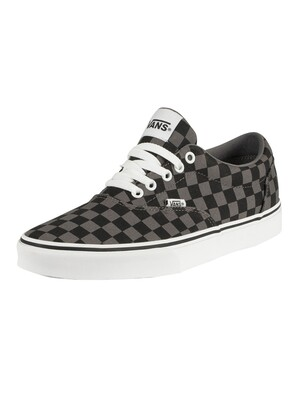 Vans Doheny Checkerboard Trainers - Black/Pewter