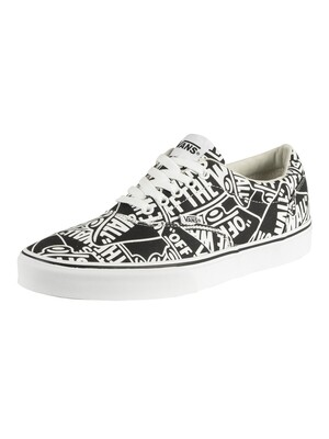 Vans Doheny Repeat Trainers - Black/White