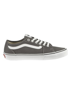 Vans Filmore Decon Canvas Trainers - Pewter/White