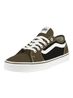 Vans Filmore Decon Canvas Trainers - Beech/Black