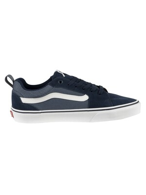Vans Filmore Suede Canvas Trainers - Dress Blue