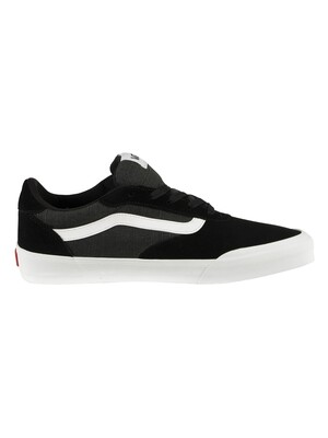 Vans Palomar Suede Canvas Trainers - Black/White