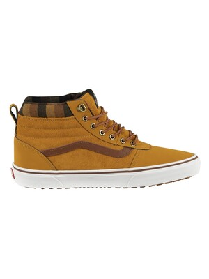 Vans Ward Hi MTE Suede Boots - Honey/Plaid