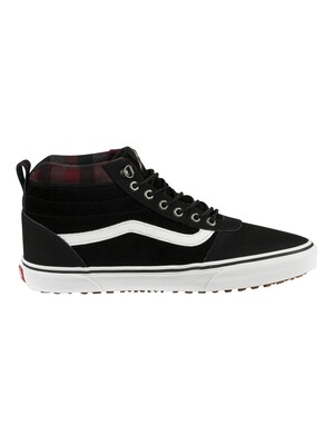 Vans Ward Hi MTE Suede Boots - Black/Plaid