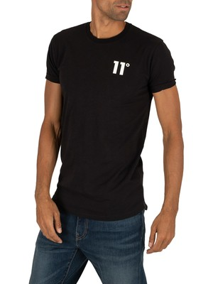 11 Degrees Core Muscle Fit T-Shirt - Black