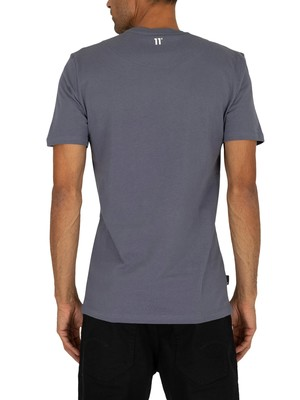 11 Degrees Core T-Shirt - Twister Grey