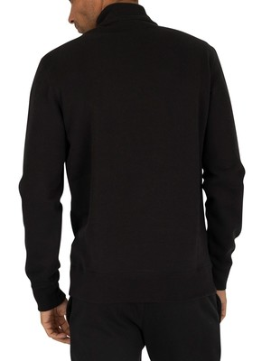 Champion Half Zip Sweatshirt - Black
