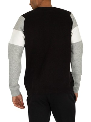 Champion Panelled Sweatshirt - Black
