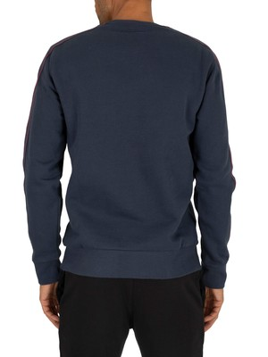Champion Taping Sweatshirt - Navy