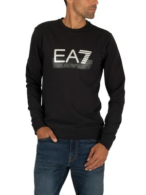 EA7 Graphic Sweatshirt - Black