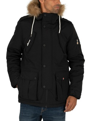 Ellesse Blizzard Parka Jacket - Black