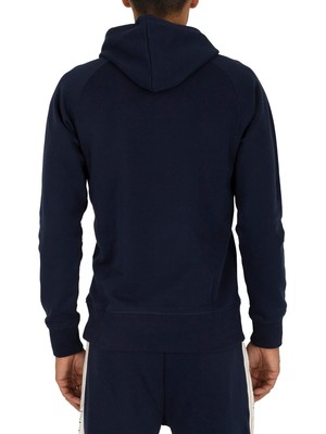 Gant Archive Pullover Hoodie - Evening Blue