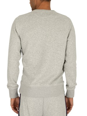 Gant Archive Sweatshirt - Light Grey Melange