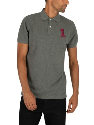 Hackett London New Classic Poloshirt - Charcoal
