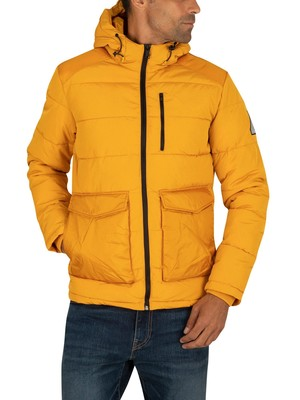 Jack & Jones Wayne Puffer Jacket - Sunflower