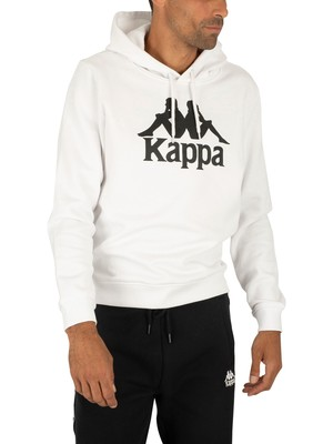 Kappa Authentic Esmio Pullover Hoodie - White/Black