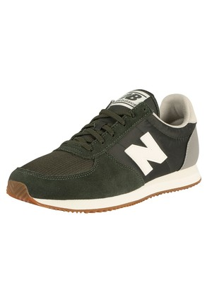 New Balance 220 Suede Trainers - Green