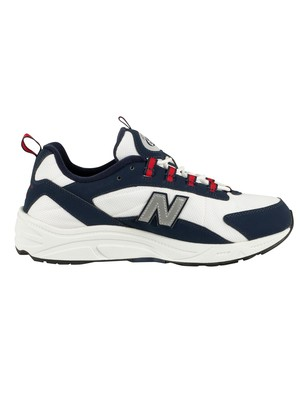 New Balance 615 Trainers - Navy/Red/White