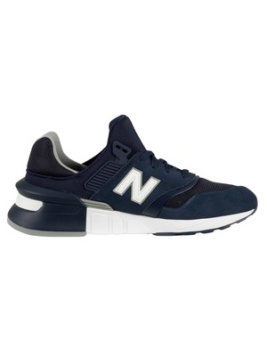 New Balance 997 Sport Trainers - Pigment/White