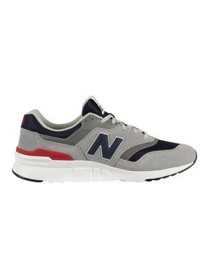 New Balance 997 Suede Trainers - Team Away Grey/Pigment