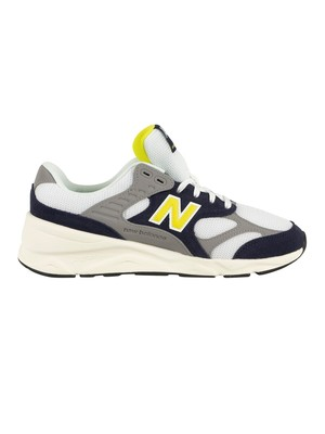 New Balance X 90 Reconstructed Trainers - Pigment/White