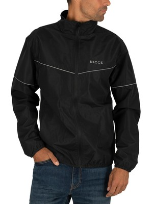 Nicce London Echo Jacket - Black/Reflective