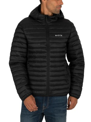 Nicce London Maidan Puffer Jacket - Black