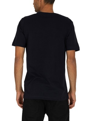 Nicce London Rhodium T-Shirt - Deep Navy/Logan Berry