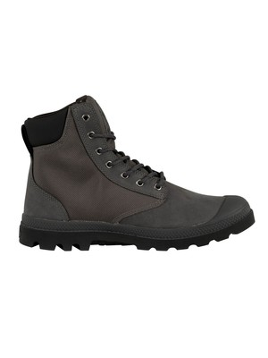 Palladium Pampa Sport Cuff Boots - Forged Iron