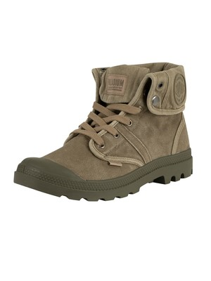 Palladium US Baggy Pallabrouse Boots - Dusky Green