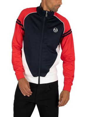 Sergio Tacchini Ascot Track Jacket - Navy/Red