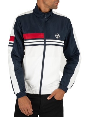 Sergio Tacchini Decha Track Jacket - Navy/White/Apple Red